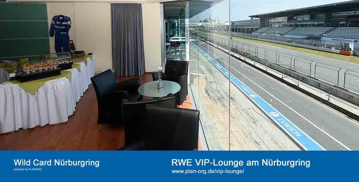 Wild Card VIP-Lounge Nürburgring