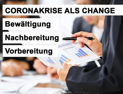 CORONAKRISE ALS CHANGE